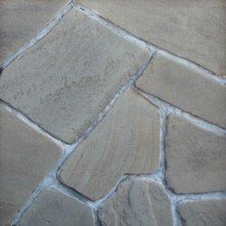 Песчаник серо-зеленый галтованный