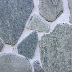 Златолит серебристо-зеленый галтованный