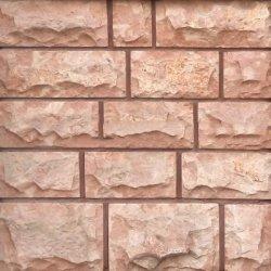 Плитка из известняка розового 5-и сторонняя с околом