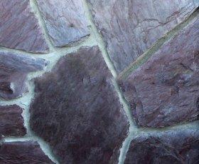 Сланец фиолетовый