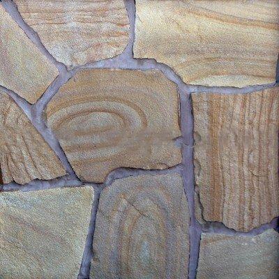 Песчаник коричневый с разводами
