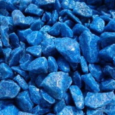 Мраморная крошка синяя