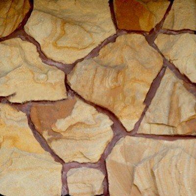 Песчаник коричневый Фонтанка