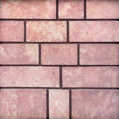 Плитка из известняка розового 6-и сторонняя