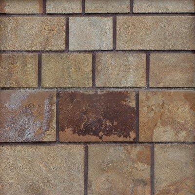 Плитка из песчаника коричневого 4-х сторонняя без окола