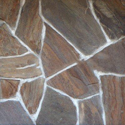 Песчаник коричневый «Опавшая листва»