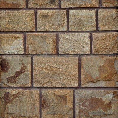 Плитка из песчаника коричневого 4-х сторонняя с околом