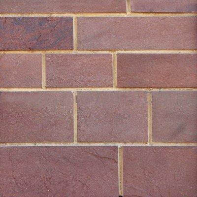 Плитка из песчаника красного 4-х сторонняя без окола